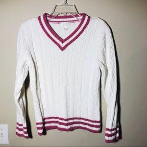 Christopher & Banks Tennis Sweater